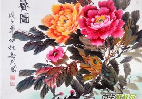 著名花鸟画家周春民国画艺术