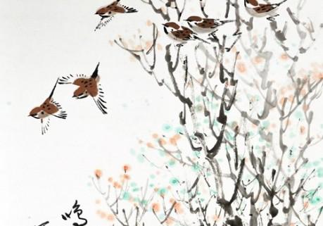 周春民国画