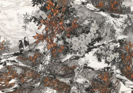著名书画家吴景晨先生花鸟作品欣赏